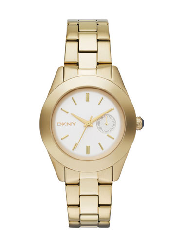 DKNY  Golden/White Analog Watch-NY2132