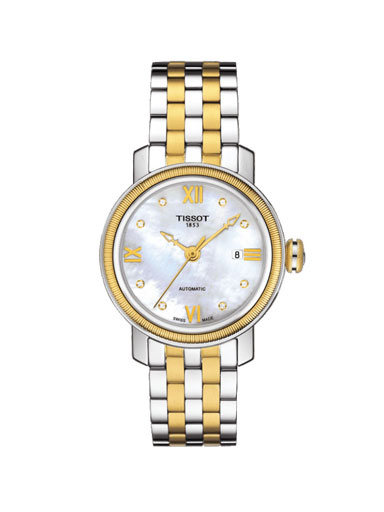 Tissot T-Classic Bridgeport Automatic Women's Watch-T0970072211600