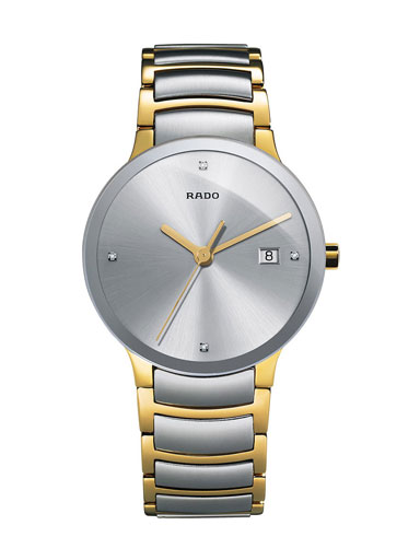 Rado Centrix Jubile Silver Dial Diamonds Men's Watch-R30931713