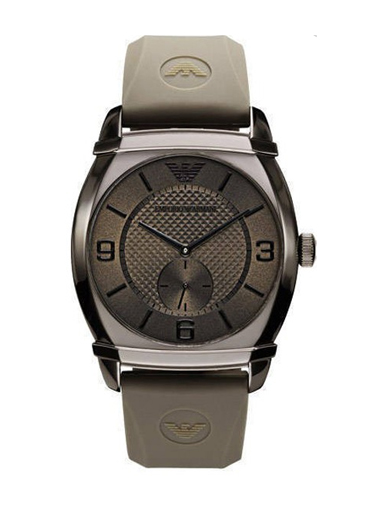 Emporio Armani Men's Classic Grey Dial Watch-AR0341