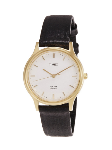 Timex Classics Analog White Dial Men's Watch-A042