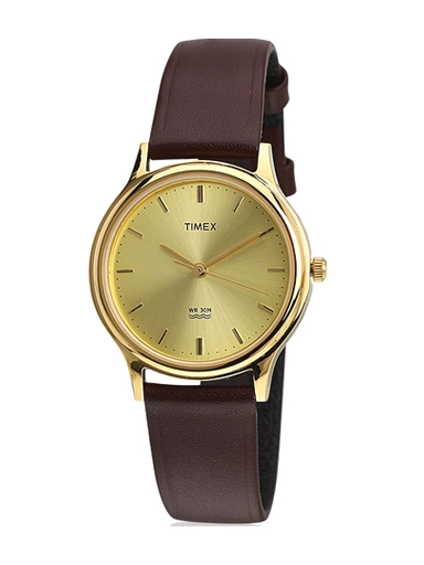 Timex Classics Analog Gold Dial Men's Watch-A043