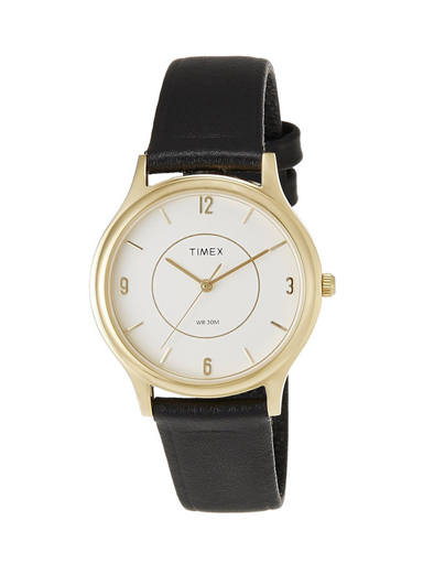 Timex Classic Analog White Dial Men's Watch-A049