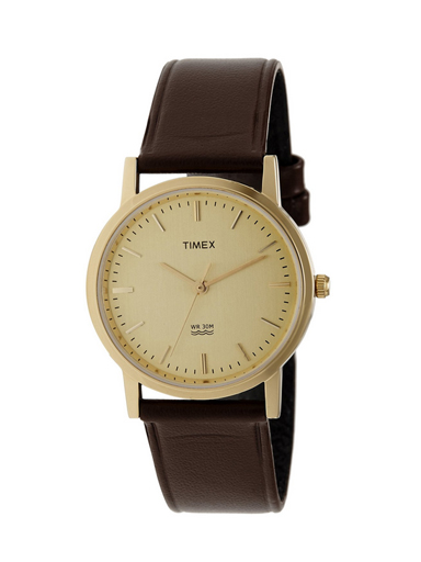 Timex Classic Analog Gold Dial Men's Watches-A301