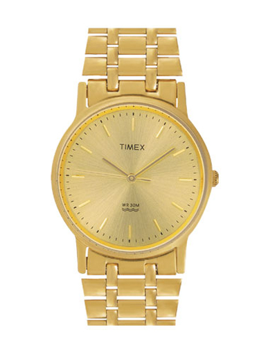 Timex Classic Gold Dial Men's Watches-A304