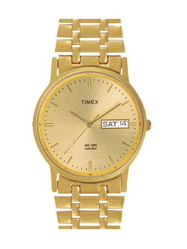 Timex Classic Gold Dial Men's Watch-A504