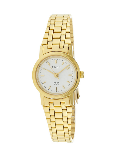 timex classicss analog white dial women's watch-B303