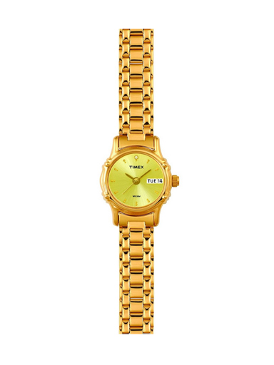 Timex Classic Champagne Dial Women's Watch-B810
