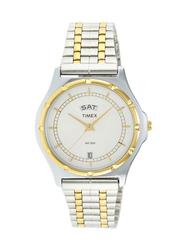 Timex Analog White Dial Men's Watch 03-BW03