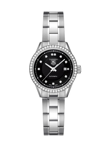 Tag Heuer Carrera Diamond Ladies Watch-WV2412.BA0793
