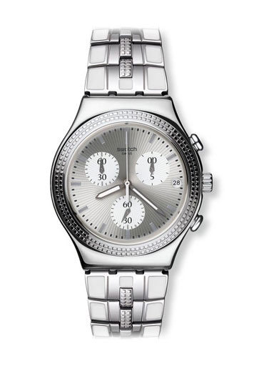 Swatch Crystal Cascade Watch-YCS580G
