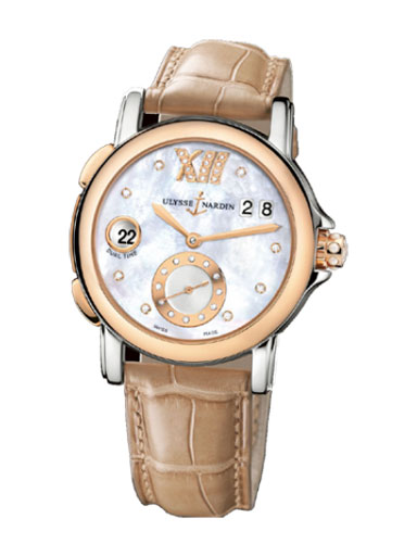 ulysse nardin mother of pearl watch- 245-22/391 IND