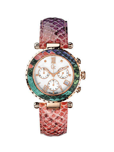 Guess Collection Genuine Leather Watch-X43009M1S