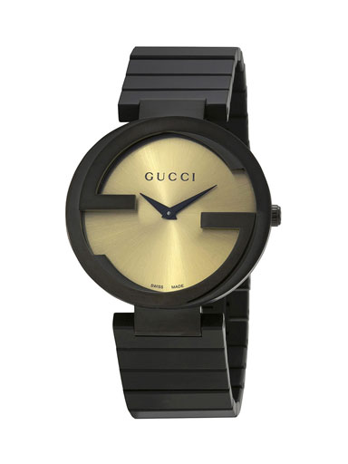 Gucci Interlocking Special Grammy Bracelet Ladies Watch-YA133314