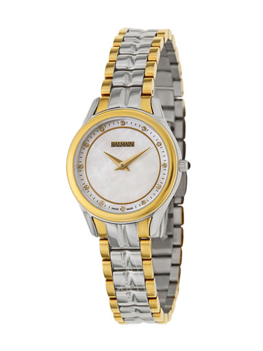 Balmain Women's White Dail Watch-B36123986