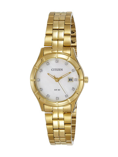 Citizen Dress Quartz MOP Dial EU6042-57D Women's Watch-EU6042-57D
