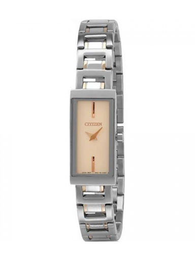 Citizen Square Beige Dial EZ6334-50P Women's Watch-EZ6334-50P