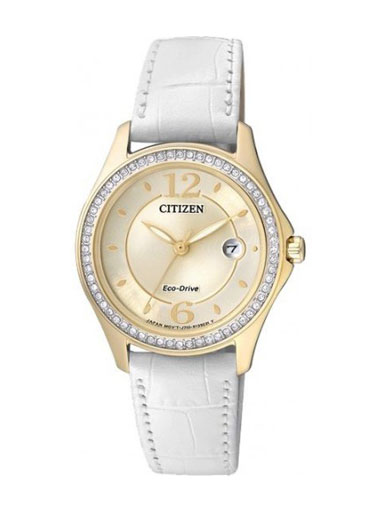 Citizen Eco-Drive Gold FE1142-05P Women's Watch-FE1142-05P