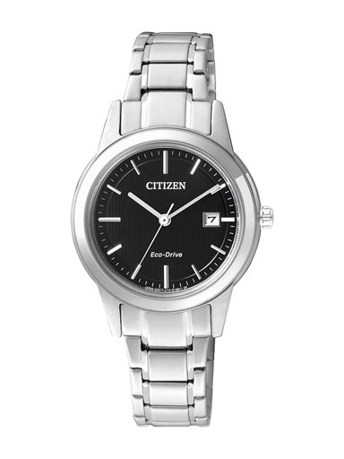Citizen Eco-Drive Black Dial FE1081-59E Women's Watch-FE1081-59E