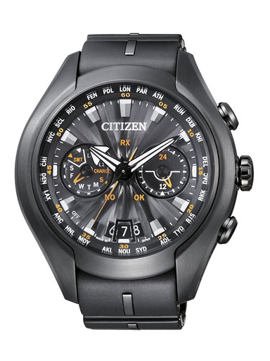 Citizen Analog Black Dial 49mm Men's Watch-CC1075-05E