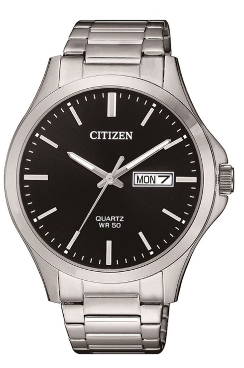 Citizen Quartz Black Dial Men's Watch BF2001-80E-BF2001-80E