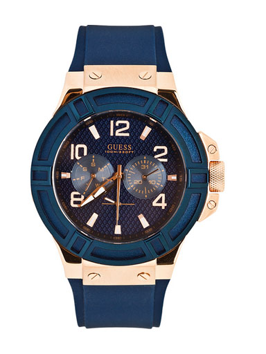 Guess Gents Rigor Watch-W0247G3