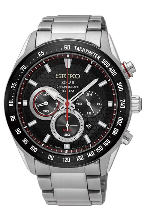 Seiko Criteria Solar Chronograph SSC579P1 Watch For Men-SSC579P1