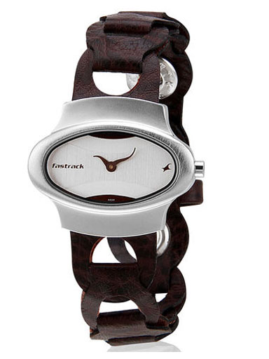 Fastrack Brown Analog Watch-Ne6004sl01