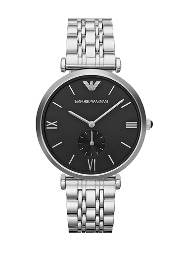 Armani Retro Sub-Seconds Stainless Steel Men's watch-AR1676