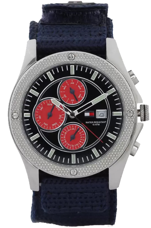Tommy Hilfiger Black Multi-Function Dial Men's Watch TH1790581/D-TH1790581/D