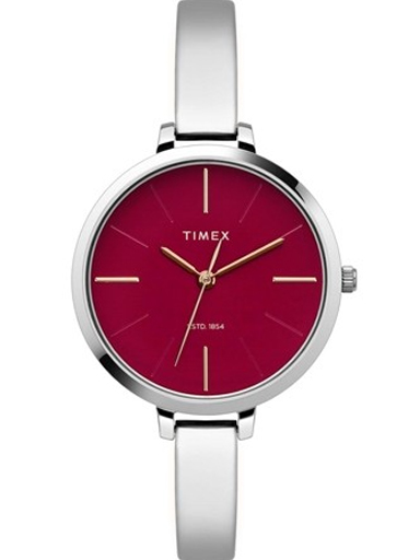 Timex Fashion Red Dial Women Watch TWEL12801-TWEL12801