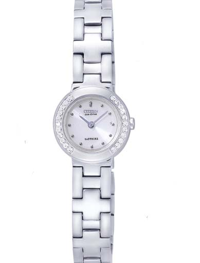 Citizen Eco-Drive Silver Dial EG2120-58A Women's Watch-EG2120-58A