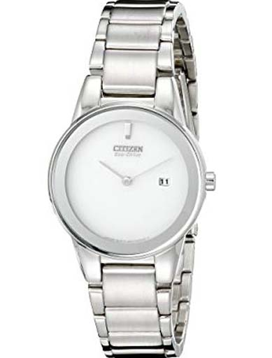 Citizen Eco-Drive White Dial GA1050-51A Women's Watch-GA1050-51A