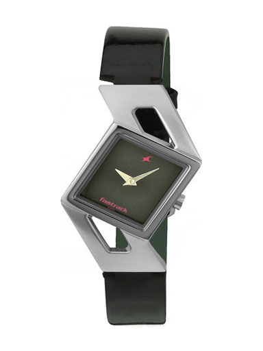 Fastrack Girls Analog Black Dial Women's Watch-NE6035SL02