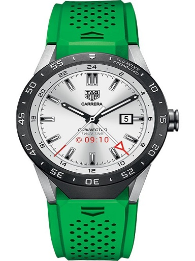 Tag Heuer Connected Green strap Watch-SAR8A80.FT6059