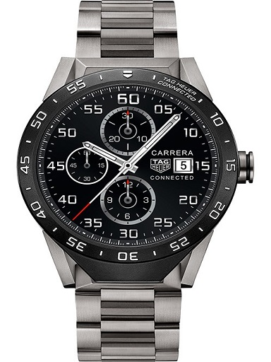 Tag Heuer Connected Titanium Men's Watch-SAR8A80.BF0605