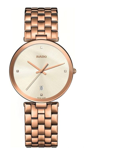 Rado Florence Diamonds White Dial Men Watch-R48869734