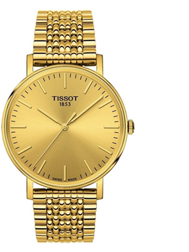 Tissot Everytime Medium Champagne Dial Unisex Watch-T1094103302100