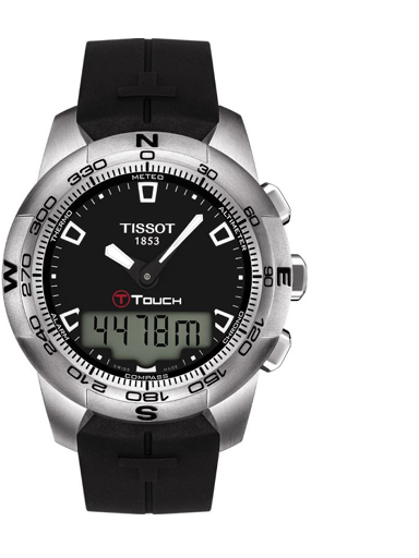 Tissot T-Touch ll Stainless Steel Men's Watch-T0474201705100