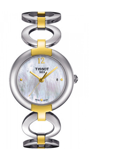 Tissot T-Lady Trend Pinky Mother of Pearl Dial Women's Watch-T0842102211700
