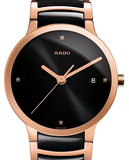 Rado Centrix Black Dial Men's Watch-R30554712