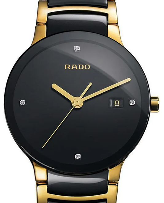 Rado Centrix Diamonds Black DIal Men's Watch-R30929712