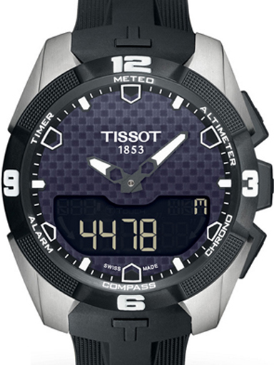 Men's Tissot T-Touch Solar Quartz-T0914204705100