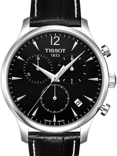 Tissot Tradition Chronograph Black Men's Watch-T0636171605700
