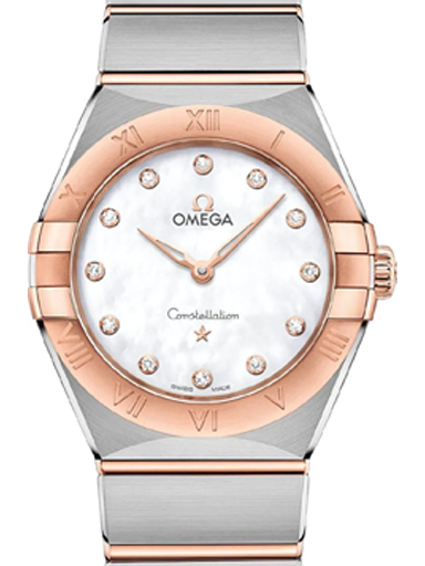Omega Constellation Quartz Women's Diamonds Watch-O13120286055001