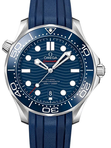 Omega Seamaster Automatic Men's Blue Dial Watch-O21032422003001