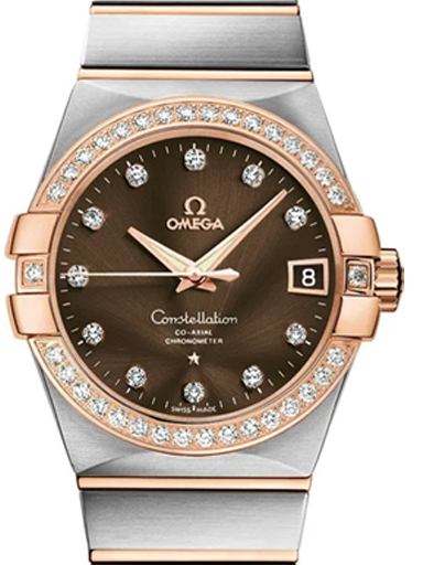 Omega Constellation Co-Axial Men's Automatic Watch-O12325382163001