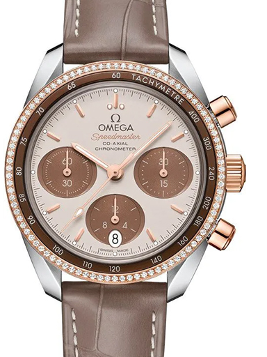 Omega Speedmaster Co-Axial Chronograph Women's Watch-O32428385002002