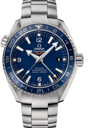 Omega Seamaster Planet Ocean 600M Co-Axial GMT 43.5 Men's Watch-O23290442203001