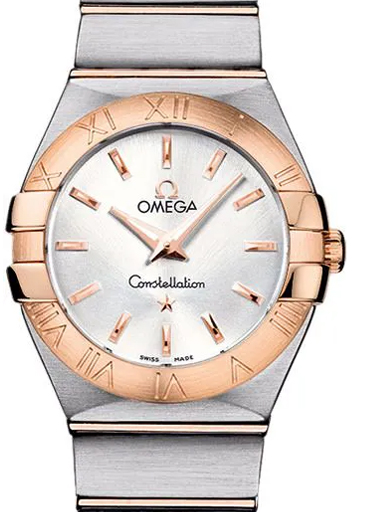 Omega Constellation Steel - Red Gold Women's Quartz Watch-O12320276002001